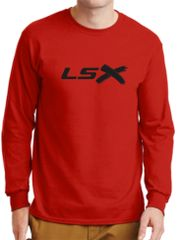 LSX - Black Logo Long Sleeve