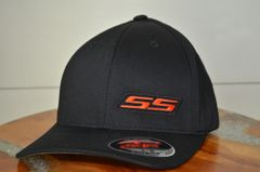 SS - Flexfit Black/Black/Orange/Black)