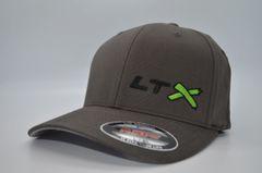 LTX - Flexfit Dark Grey(Black, Neon Green, Black)