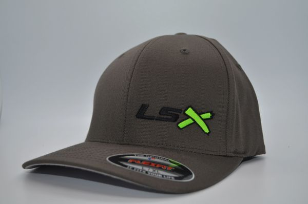 LSX -Dark Grey Flexfit (Black/Neon Green/Black)