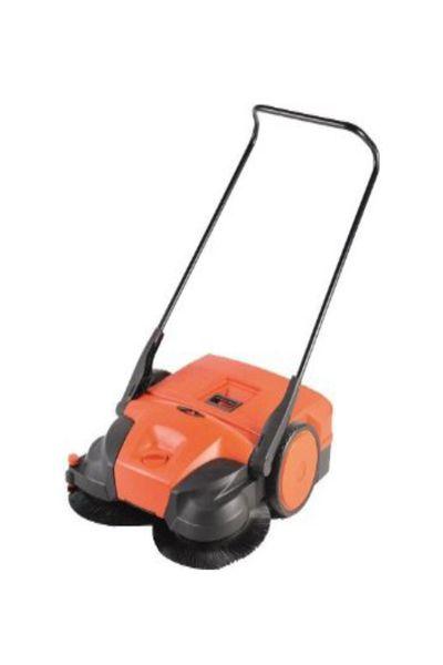 "HAAGA® 677 Sweeper | 31"" Battery Powered Push Sweeper"