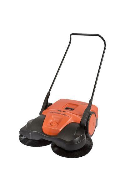 HAAGA® 697 Sweeper | Battery Powered Push Sweeper