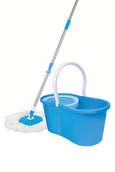 Maxpin® M02BL Spin Mop Deluxe Cleaning System