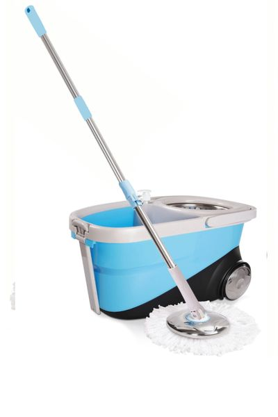 Maxpin® M10BL Deluxe Spin Mop 360 with Wheels