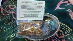Smudge Kit: Palo Santo & Abalone Shell + Free Crystal