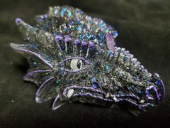 Enchanted Dragon: Black Amethyst