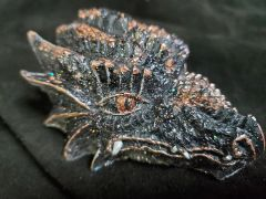 Enchanted Dragon: Shungite and Copper