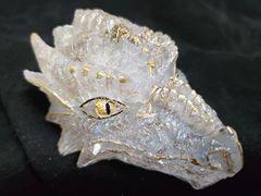 Enchanted Dragon: Clear Quartz