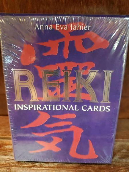Reiki Inspirational Cards, by Anna Eva Jahier