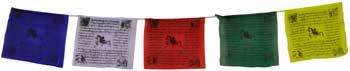 "Tibetan Prayer Flags, 3""x4"""