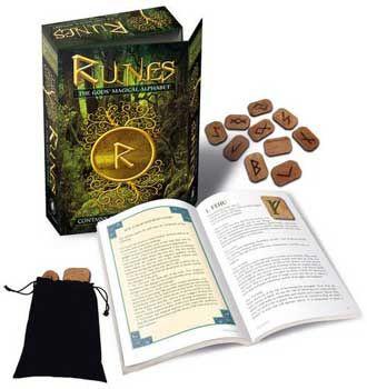 Runes: The Gods' Magical Alphabet, by Bianca Luna