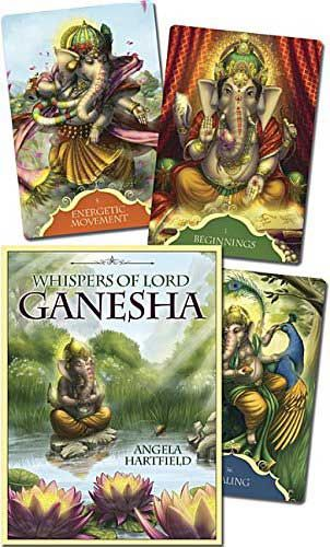 Whispers of Lord Ganesha Oracle Cards, by Angela Hartfield