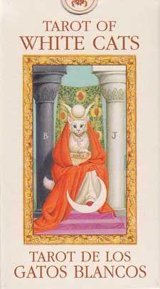 Tarot of White Cats mini deck, by Baraldi