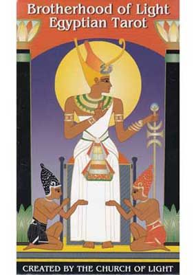 Brotherhood of Light Egyptian Tarot, by the Church of Light