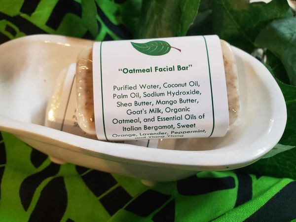 Oatmeal Facial Bar