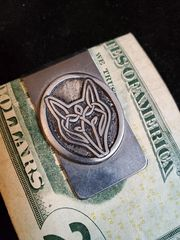 Money Clip: Celtic Wolf