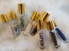 Crystal Roller Bottle for Essential Oils & Perfume Oils