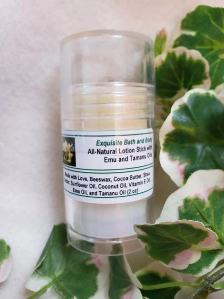 Lotion Stick with Emu Oil and Tamanu Oil