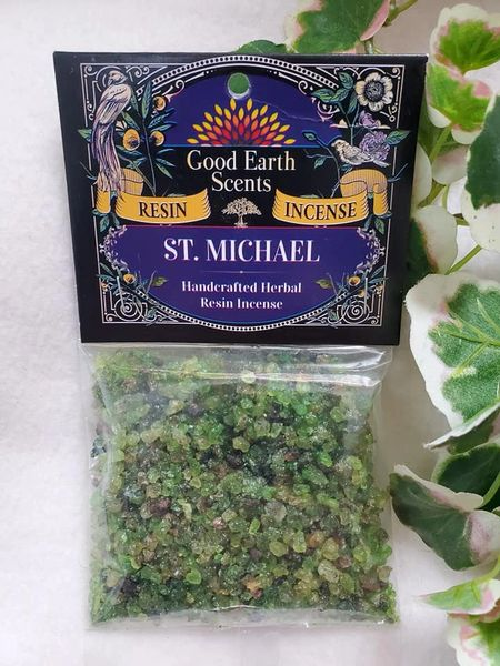 Granular Resin/Incense: St. Michael