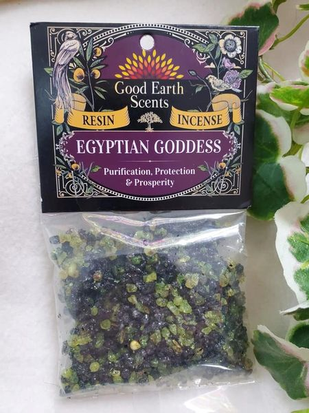 Granular Resin/Incense: Egyptian Goddess