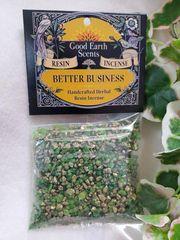 Granular Resin/Incense: Better Business