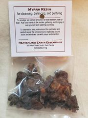 Granular Resin/Incense: Myrrh