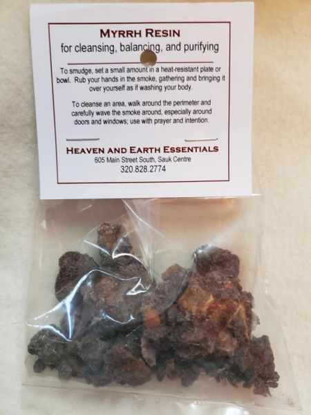 Granular Resin/Incense: Myrrh
