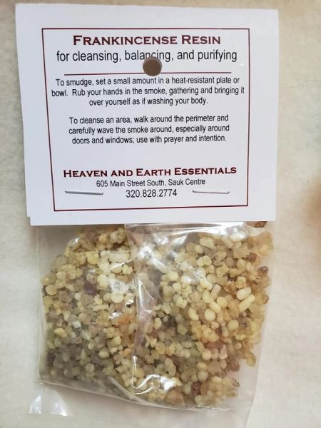 Granular Resin/Incense: Frankincense