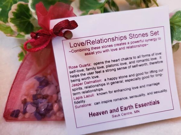 Crystal Synergy Set: Love/Relationships