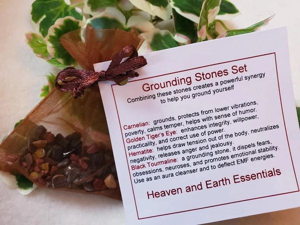 Crystal Synergy Set: Grounding