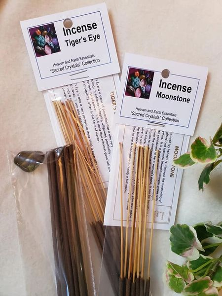 Incense Sticks: Sacred Crystals Collection
