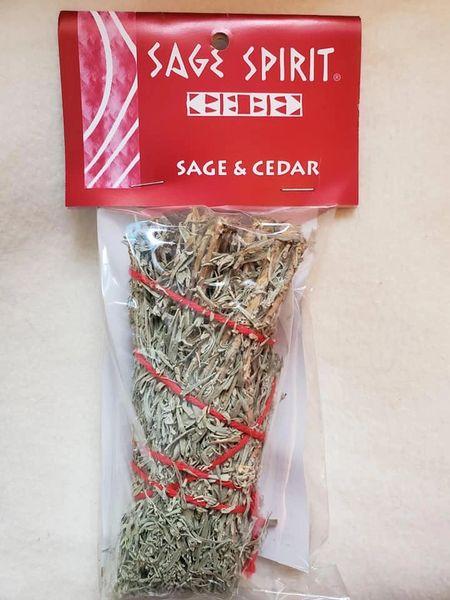 Sage Spirit: Sage & Cedar Smudge Bundle