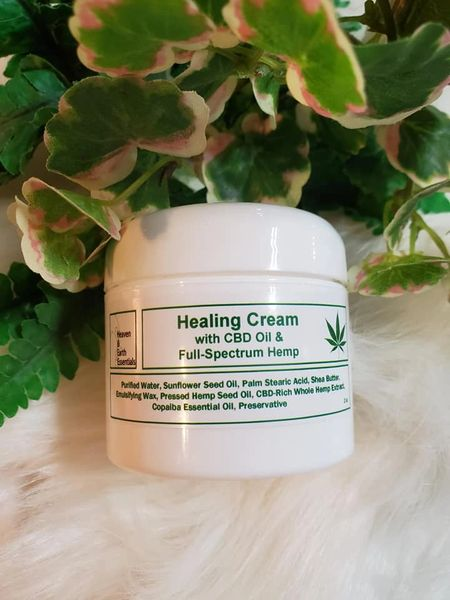 Healing Cream with CBD & Hemp