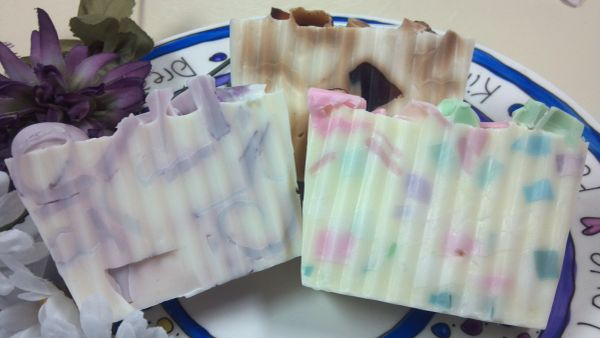 Goat's Milk Soaps with Essential Oil Blends