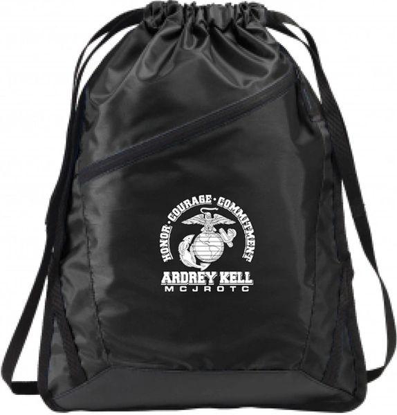 AK MCJROTC drawstring bag