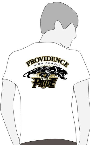 W. Providence Band White Member Shirt- Required (same as previous years)