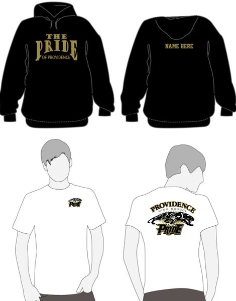 B-New Band Member Combo Pack- includes REQUIRED Hooded sweatshirt and member shirt