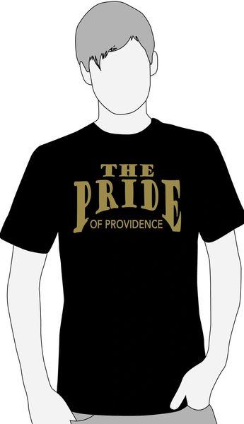 K. Providence Band Black or Gray short sleeve t-shirt
