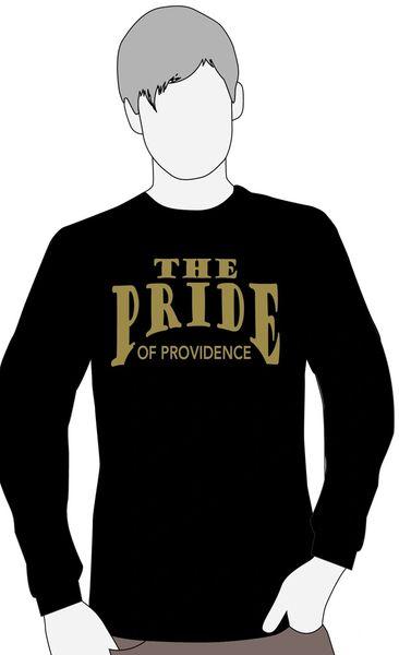 J. Providence Band Black or Gray long sleeve t-shirt