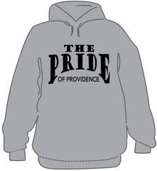 O- Black or Gray Hooded sweatshirt with optional name on back