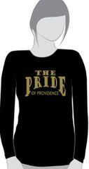Q-Providence Band Black Ladies cut long sleeve t-shirt