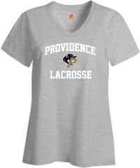 N. Ladies Providence Lacrosse v-neck t-shirt