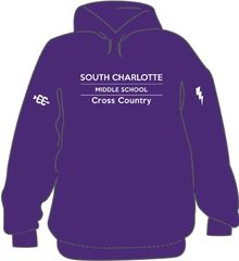 South Charlotte Cross Country Hoodie with options- order by 9/9 @ midnight
