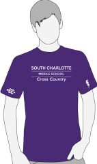 South Charlotte Cross Country Performance T-Shirt- order by 9/9 @ midnight!