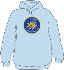 St. Martin's Preschool Hooded Sweatshirt