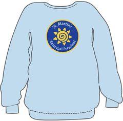 St. Martin's Preschool CREW NECK Sweatshirt