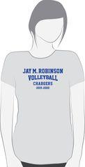 VOLLEYBALL short sleeve T shirt