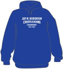 CHEER Hoodie with last name on back