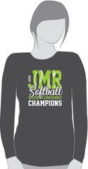 Softball CHAMPIONSHIP long sleeve shirt