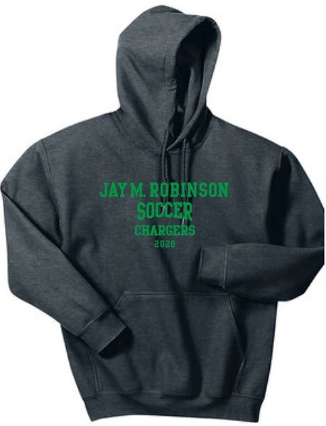 Soccer Hoodie with last name on back